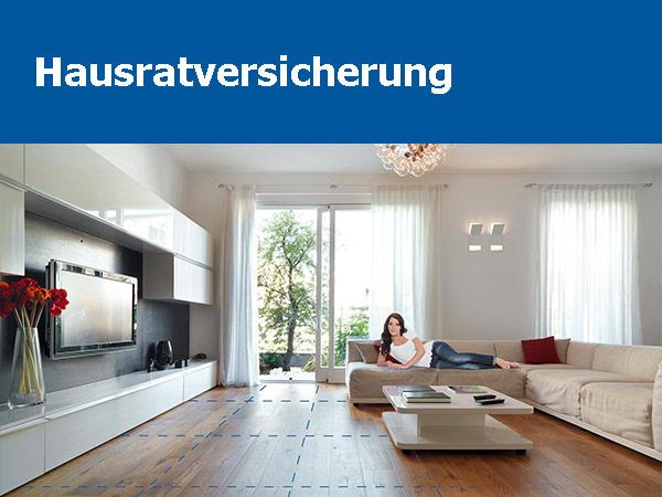 Konzept Und Marketing Hausratversicherung allsafe home